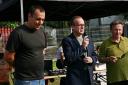 Od lewej: Błażej Targosz, Leszek Langer, Konstanty Legutko