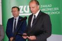 Krzysztof Saczka, dyrektor Zakładu Ubezpieczeń Społecznych w Nowym Sączu