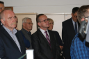 Leszek Langer (w środku), dyrektor Sądeckiego Urzędu Pracy w Nowym Sączu