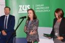 prof. Gertruda Uścińska, prezes Zakładu Ubezpieczeń Społecznych