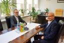 Prezydent Ryszard Nowak oraz Leszek Langer