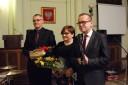 Przemawia Leszek Langer dyrektor Sądeckiego Urzędu Pracy